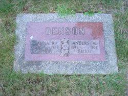 Anders M Benson