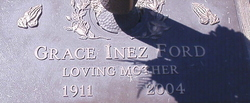 Grace Inez <I>Vinson</I> Ford