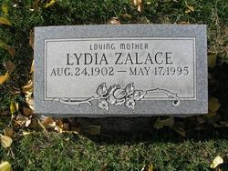 Lydia <I>Schmidt</I> Zalace