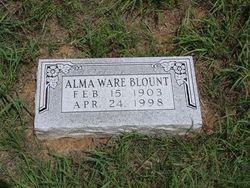 Alma Mae <I>Ware</I> Blount