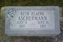 Beth Elaine Aschermann