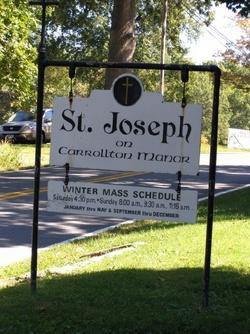 Saint Josephs Carrollton Manor Cemetery
