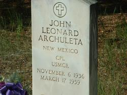 John Leonard Archuleta