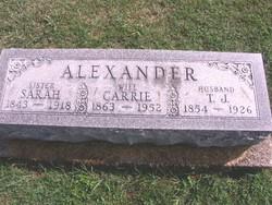Sarah Eliza Alexander