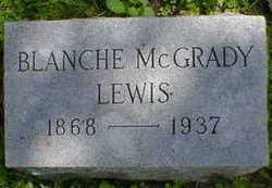 Blanche Flora <I>McGrady</I> Lewis
