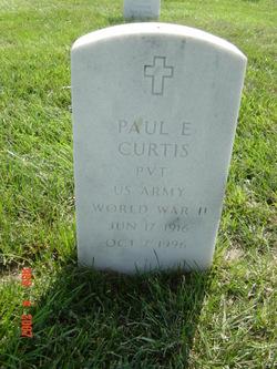 Paul E Curtis