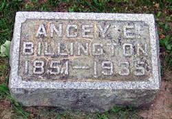Ancey Emaline <I>Langdon</I> Billington