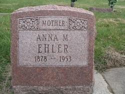 Anna Myrtle <I>Marlow</I> Ehler
