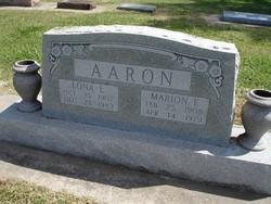 Lona L. <I>Popejoy</I> Aaron