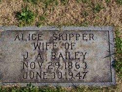 Alice <I>Skipper</I> Bailey