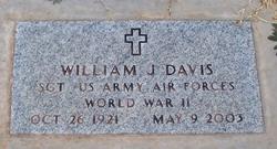 "William John ""Dub"" Davis"