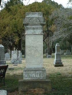 """Thompson Walker """"T. W."""" Daniel"""