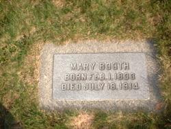 Mary <I>Roe</I> Booth