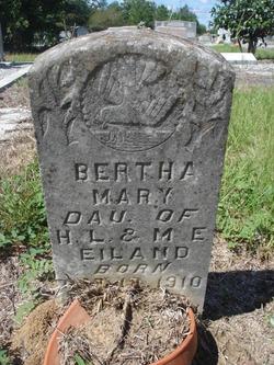Bertha Mary Eiland