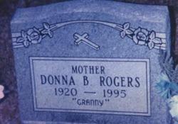 Donna <I>Ball</I> Rogers