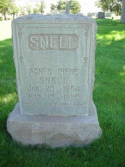 Agnes Irene Snell