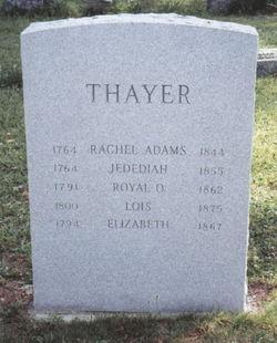 Royal Olmstead Thayer, Sr