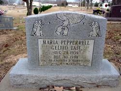 "Mrs Maria Pepperrell ""Bhabes"" <I>Gelito</I> Tait"