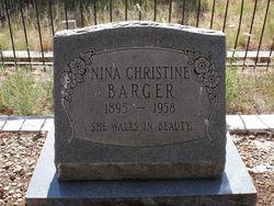 Nina Christine Barger