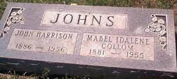 Mabel Idalene <I>Collom</I> Johns