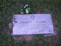 Pvt Thomas S. Brown