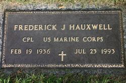 Frederick John Hauxwell