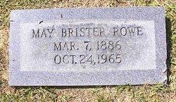 May <I>Brister</I> Rowe
