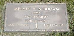 Melvin Ernest Merriam