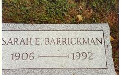 Sarah E. Barrickman