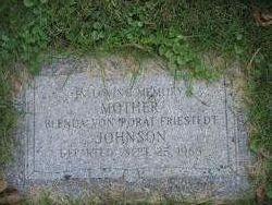 Blenda Von Porat <I>Friestedt</I> Johnson