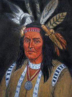 "Chief ""Hokolewskwa"" Cornstalk"