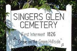 Singers Glen Cemetery