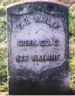 Corp Cornelius L Bailey