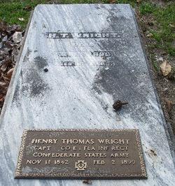 Henry Thomas Wright