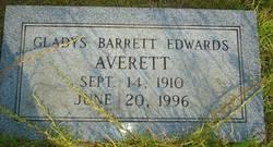 Gladys Barrett <I>Edwards</I> Averett