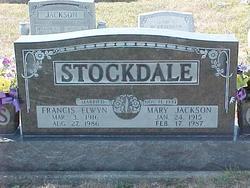 Mary Verna <I>Jackson</I> Stockdale