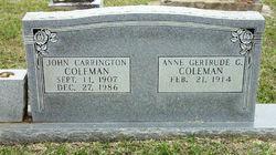 John Carrington Coleman