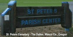 Saint Peters Parish Center Cemetery