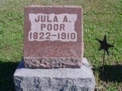 Julia Ann <I>Wineinger</I> Poor