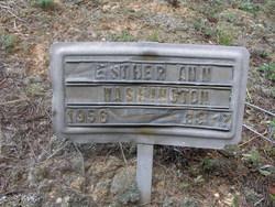 Esther Ann Washington