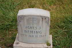 Agnes J. <I>Johnston</I> Deming