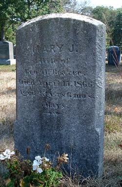 Mary Jane <I>Thayer</I> Bearce
