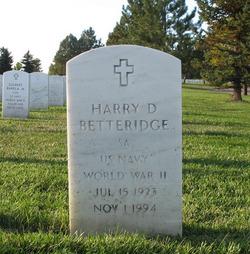 Harry D Betteridge