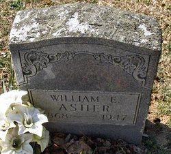 """William E """"Will"""" Asher"""