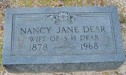 Nancy Jane <I>Carroll</I> Dear