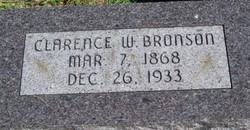 Clarence Wheaton Bronson (1868-1933) - Find A Grave Memorial
