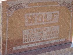 Elmer C Wolf
