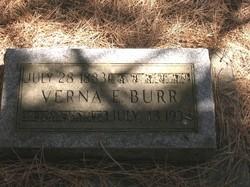 Verna E. <I>Nelson</I> Burr
