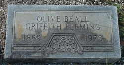 Olive Beall <I>Griffith</I> Fleming
