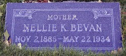 Nellie <I>Kirk</I> Bevan
